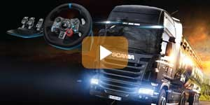 Euro Truck Simulator 2 with Logitech G29 Steering Wheel Videos Thumb